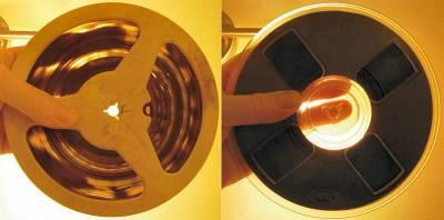Acetate tape versus polyester tape